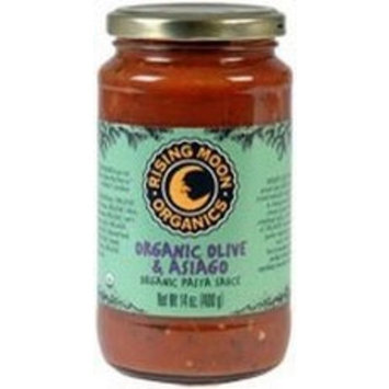 Rising Moon Organics B46855 Rising Moon Organic Pasta Sauce Olive And Asiago -12x14oz