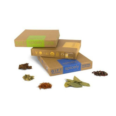 Spicely Organic Spices Gift Set French Fantastique 12-box Sampler ..... Low Rate Shipping