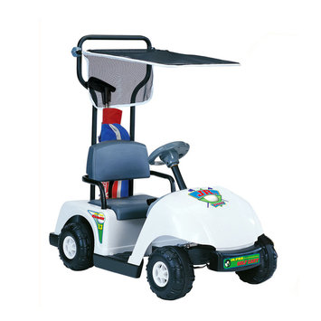 tional Products Ltd. Kid Motorz Jr. Pro 6-volt White Golf Cart