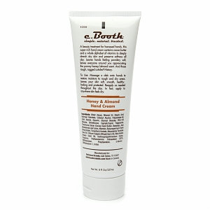 c. Booth Honey & Almond Hand Cream