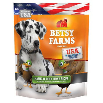Betsy Farms Besty Farms Natural Duck Jerky Treat for Dogs - 24 Oz
