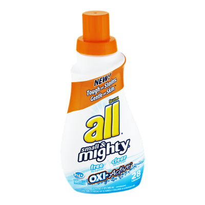 All Small & Mighty Free Clear Oxi-Active Detergent