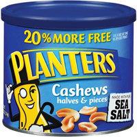 Planters Cashew Halves & Pieces with Pure Sea Salt