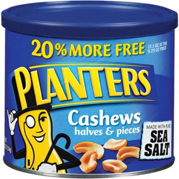 Planters Cashew Halves & Pieces with Pure Sea Salt