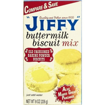 Jiffy Biscuit Mix Buttermilk, 8-Ounce Boxes (Pack of 24)