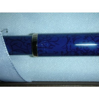 Cross Century ll Alhambra Cobalt Blue 0.5mm Pencil with 23kt Appointments Made in USA