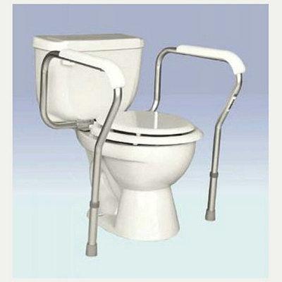 Essential Medical Essential Adjustable Toilet Safety Rails
