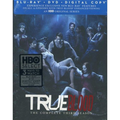 True Blood: The Complete Third Season (Blu-ray + DVD) (Widescreen)