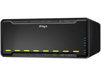 Drobo B810n NAS Array - 8 x HDD Supported - 8 x SSD Supported - Serial ATA Controller - 8 x Total Bays - Gigabit Ethernet - Network (RJ-45) Desktop