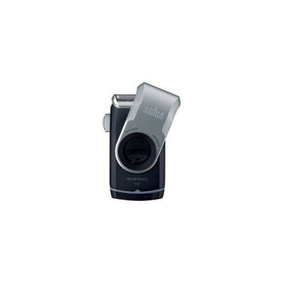 PG Procter and Gamble 10069055857912 Braun Mobile Shaver Silver M90