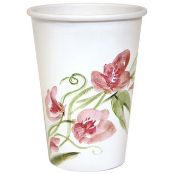 Nicole Home Collection 77030 12 Oz Cup Paper Floral - 288 Per Case