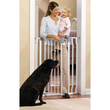 GMI GuardMaster IV 420 Extra Tall Steel Baby and Pet Gate with Alarm