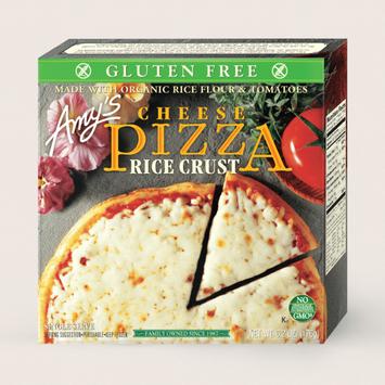 Amy's Kitchen Cheese Pizza, Gluten Free, Single Serve