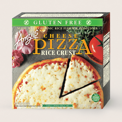 Amy's Kitchen Cheese Pizza, Gluten Free, Single Serve