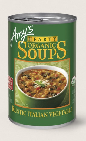 Amy's Kitchen Hearty Organic Rustic Italian Vegetable Soup
