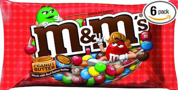 M&M's Peanut Butter Chocolate Candies