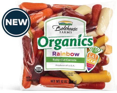 Bolthouse Farms Organic Rainbow Baby Carrot