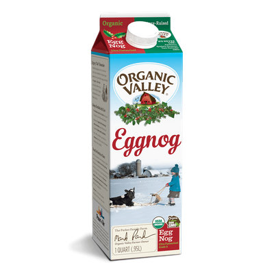 Organic Valley® Eggnog, Ultra Pasteurized, Quart