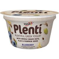 Yoplait® Plenti™ Blueberry Low Fat Greek Yogurt