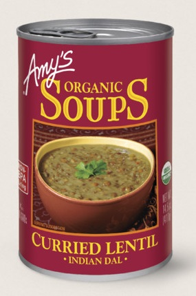 Amy's Kitchen Organic Indian Curried Lentil Soup