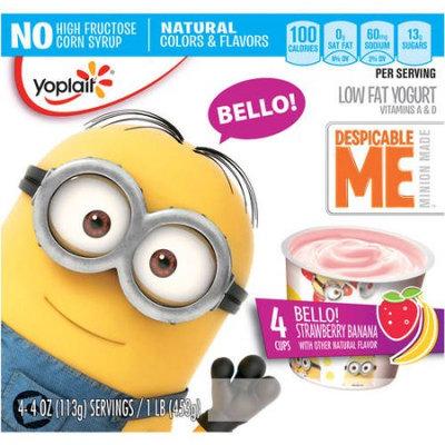 Yoplait® Despicable Me Bello! Strawberry Banana Low Fat Yogurt