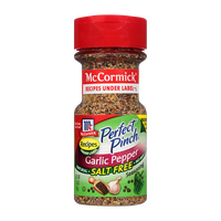 McCormick® Perfect Pinch® Salt Free Garlic Pepper Seasoning