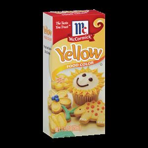 McCormick® Yellow Food Color