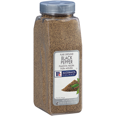 McCormick Culinary® Black Pepper, Pure Ground