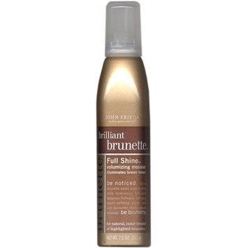 John Frieda® John Frieda Brilliant Brunette Full Shine Volumizing Mousse, 7.5 oz