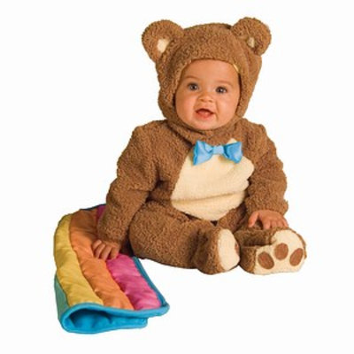 Rubies Costumes Infant/Toddler, Teddy, 12-18mo, 1 ea