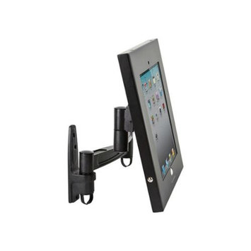 Monoprice Safe and Secure Wall Mount Display Stand for all 9.7-inch iPad - Black
