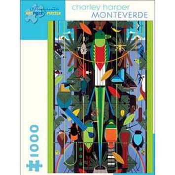 Pomegranate Communications Charley Harper Monteverde Puzzle 1000 Pcs Ages 12+