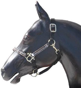 Kensington Halter with Lead Large Black w/ Black