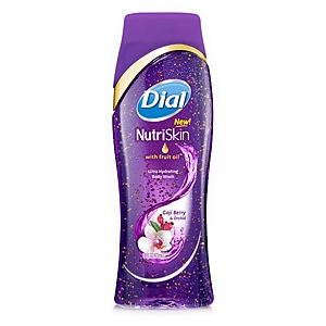 Dial NutriSkin Body Wash with Fruit Oil