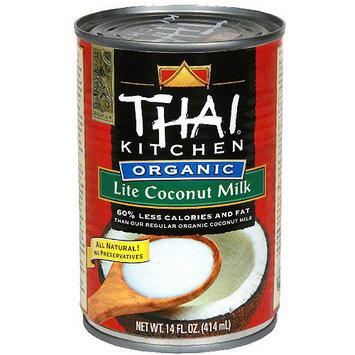 Thai Kitchen Organic Lite Coconut Milk, 13.66 oz (Pack of 12)