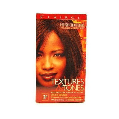 Clairol Text & Tone #3N Cocoa Brown Kit (Case of 6)
