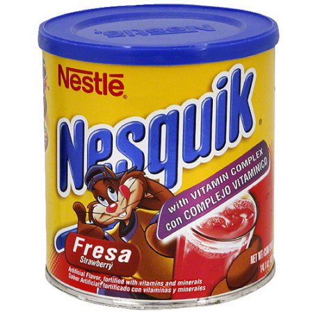 Nestle Nesquik Strawberry Drink Mix