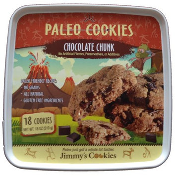 Jimmy's Cookies Chocolate Chunk Paleo Cookies