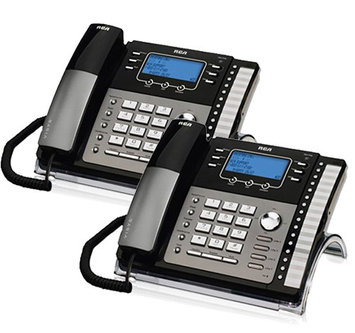 Ge/rca RCA ViSYS 25423RE1 (2-Pack) 4-Line Corded Phone