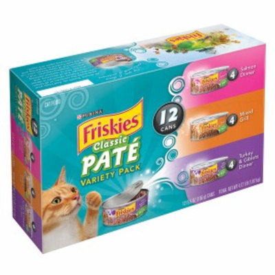 Friskies 5.5oz Prime Filets Variety, 12 ea, 4.1 LB