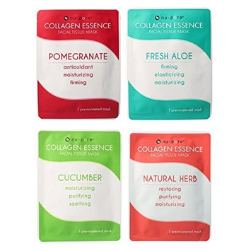 nu pore 8 Nu-pore Collagen Essence Facial Mask Pack