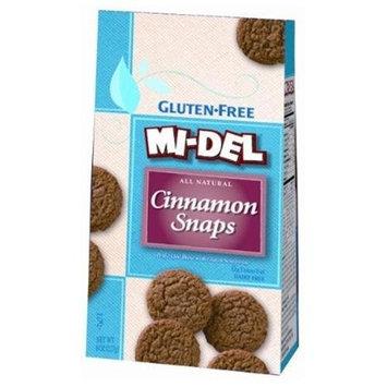 Mi-Del Cinnamon Snaps, Gf, Df, 8-Ounce (Pack of 12)