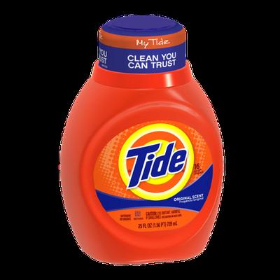 Tide Original Scent Liquid Laundry Detergent 25 Fl Oz