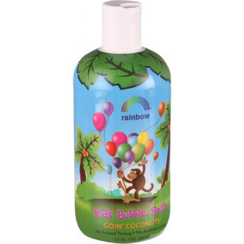 Kids Bubble Bath Goin' Coconuts Rainbow Research 12 oz Liquid