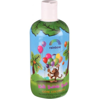 Kids Bubble Bath Goin' Coconuts Rainbow Research 12 oz Liquid