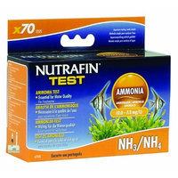 Hagen Nutrafin Ammonia 0.0 to 7.3 Mg/L for Freshwater, 70 -Tests