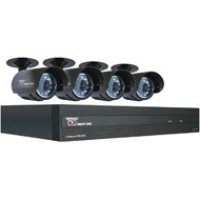 Night Owl Security Products 8 Channel STA DVR with 4 Night Vision Cameras, 500GB HD and Smartphone Viewing