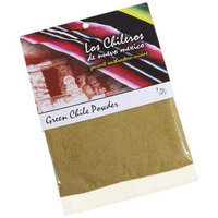 Los Chileros Green Chile Powder, 1-Ounce Packages (Pack of 6)