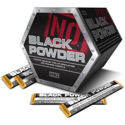 MRI M.R.I. Black Powder, Orange Burst, 20-pack Box