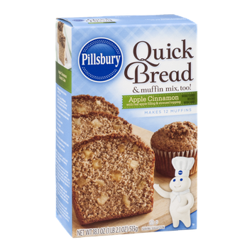 Pillsbury Quick Bread & Muffin Mix, Too! Apple Cinnamon